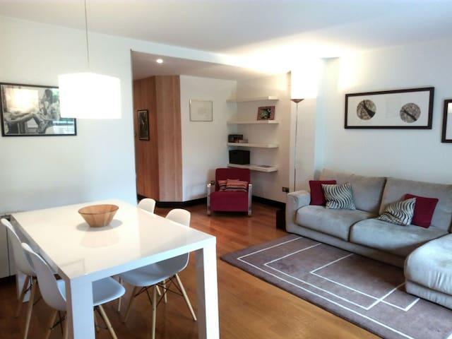 ACOGEDOR APARTAMENTO CON JARDIN - San Sebastián - Wohnung