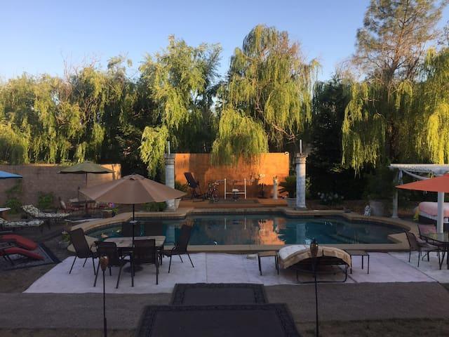 30,000 gallon Roman Style Pool