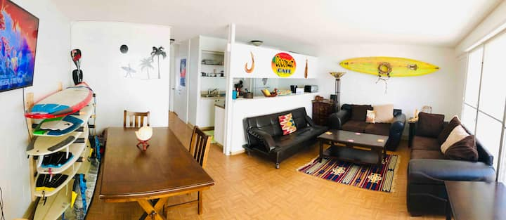 Amazing condo,Heart of Waikiki, 5min walk to beach