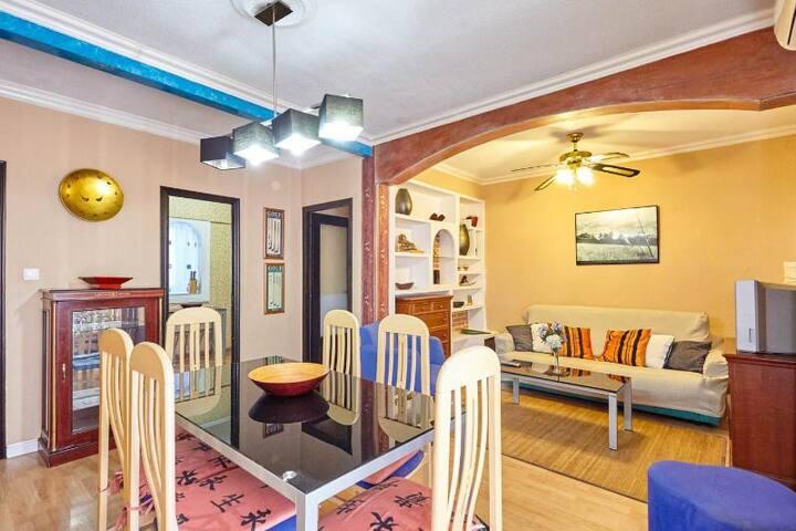 Bonito piso en la ciudad con WIFI - Alicante - Apartamento