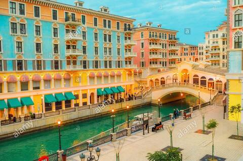 Meet Venetian Charm in the Pearl at Qanat Quartier