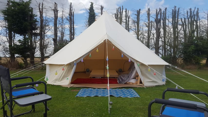 Rosa campsite glamping Bell tent