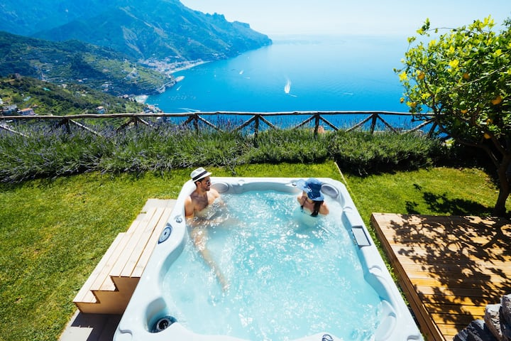 Sea View Villa with garden and jacuzzi - Ravello