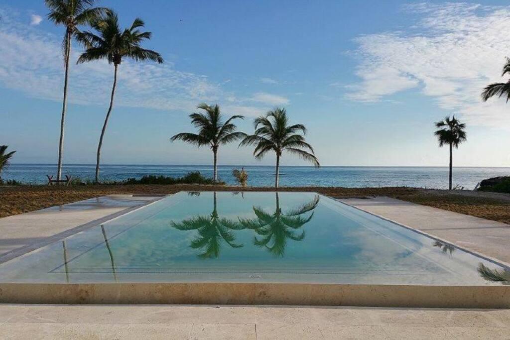 New ocean front pool