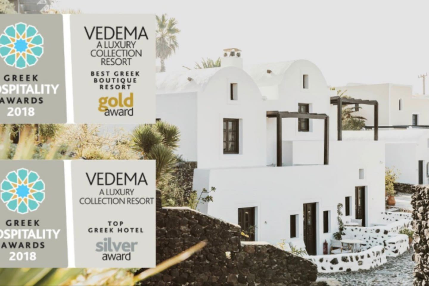 Vedema, the 5-Star, Gold award winning luxury collection boutique hotel