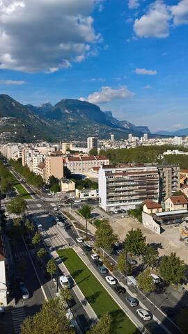 Belle vue sur les montagnes - Grenoble - Wohnung
