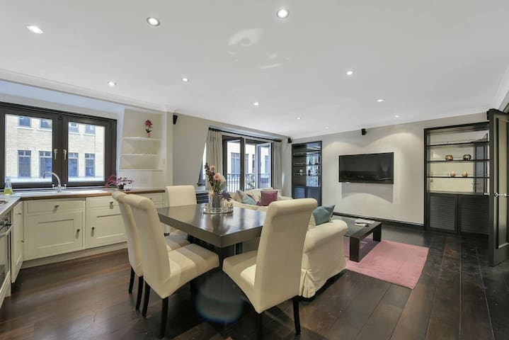 luxurious 2bdr apartment in heart of London