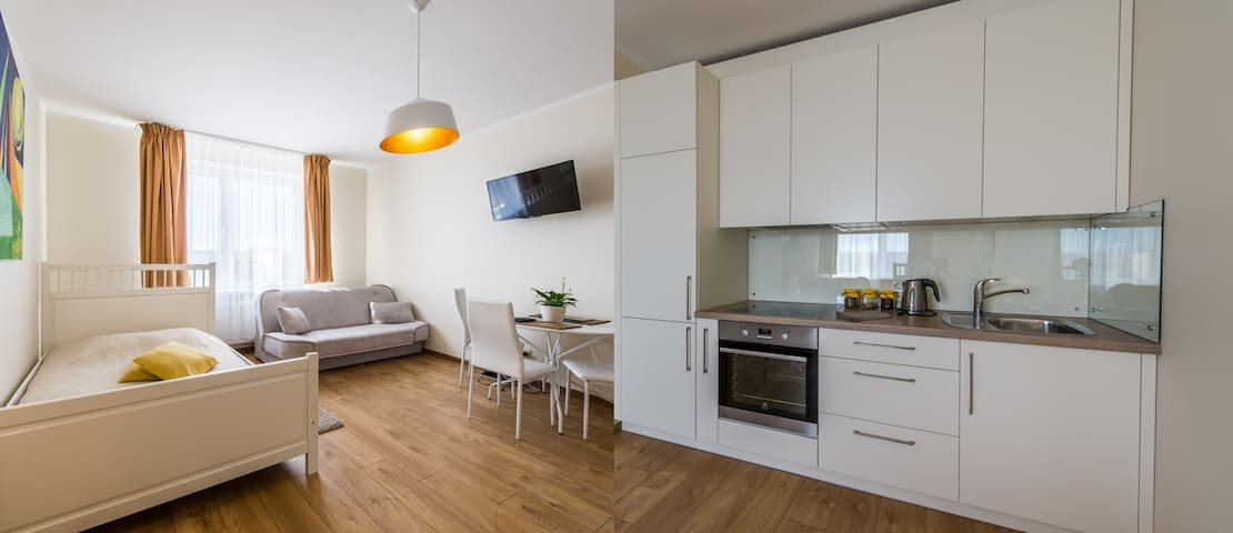 Moon Apartment - Liepāja - Departamento