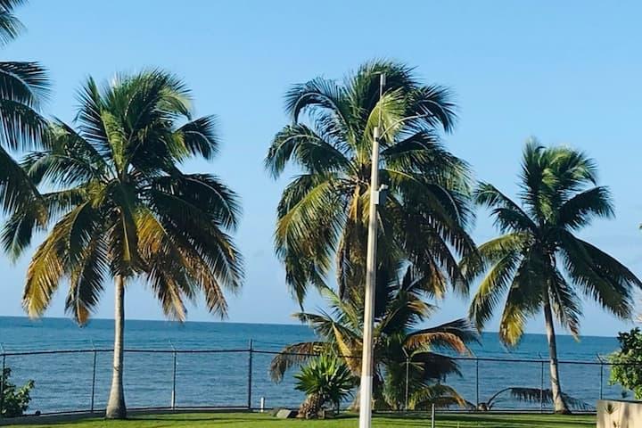 Ocean View, WiFi,  AC, Beach Access, CLEAN Condo