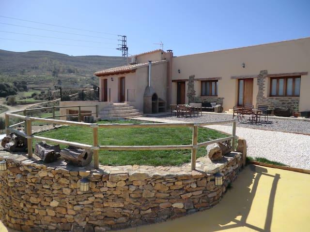 Cases Ruralmorella - Apartamento Verde