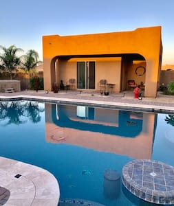 Poolside & Hot Tub Private Casita