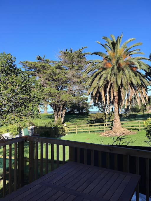 Back Deck View to beach