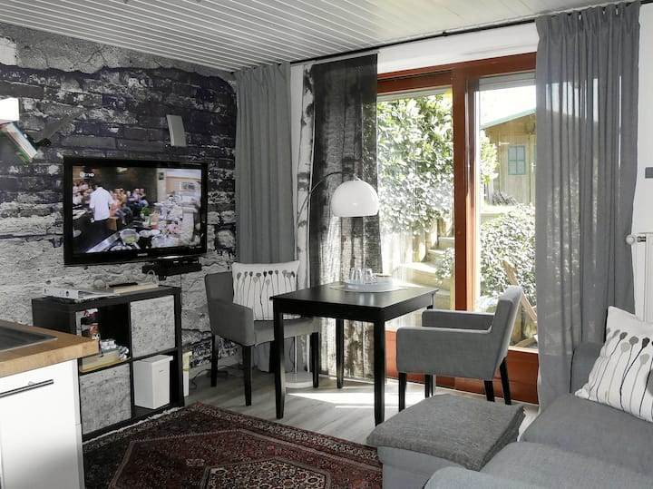 Das Wohlfühl-Apartment im Grünen!  2 Zi., naturnah