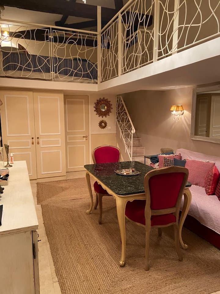 Nice, well lit and calm apartment in  Marais.