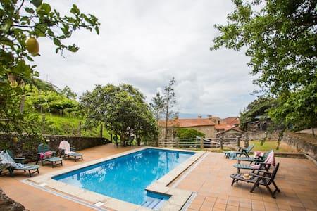 """""""Casa do Moinho"""" Jardín, piscina, barbacoa."""