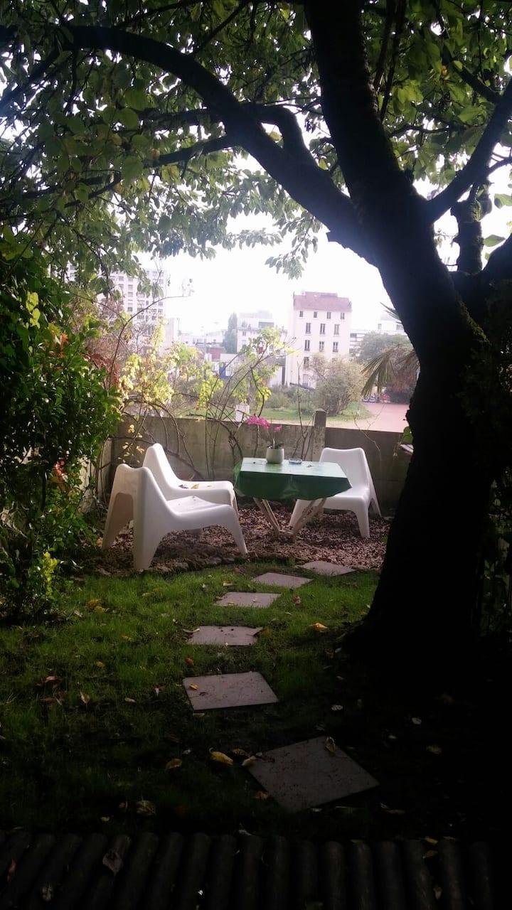 Studio avec jardin pour 1 persone