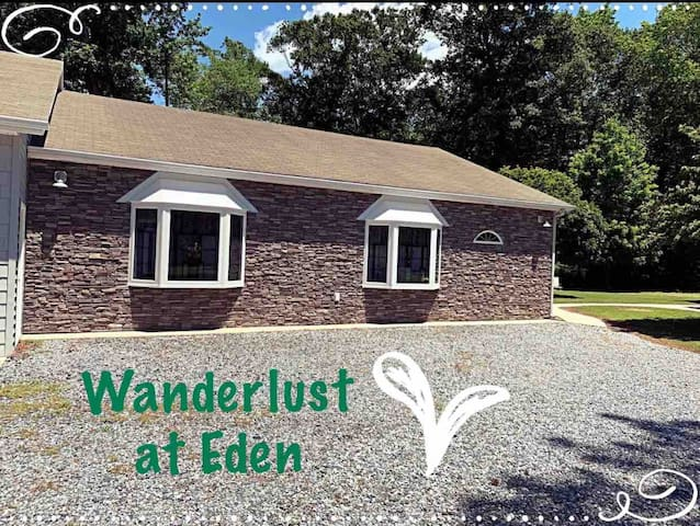 Wanderlust at Eden- your home away from home!