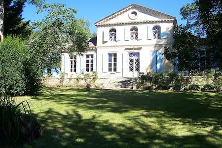 La chambre bleue - Saint-Antoine-de-Breuilh