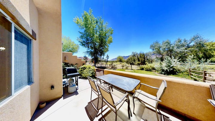 Castle View ~ 3368, 3 Bed 2 Bath Town Home On Moab Golf Course With Second Floor Deck, Terrace  - Castle View~ 3368