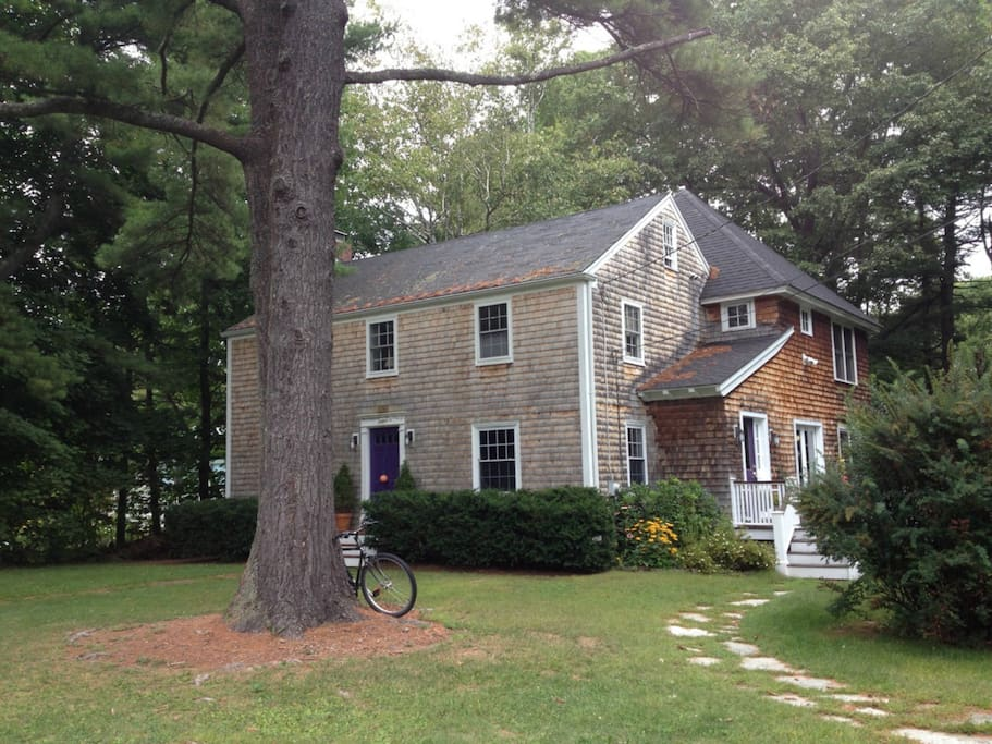 Classic New England house with 2400 sq. feet, 3 bedrooms and 2 1/2 baths.