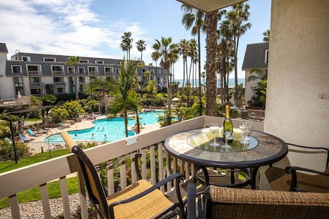 *New Listing*  FULLY REMODELED 1 bdrm condo - Ocean & Garden views -F208
