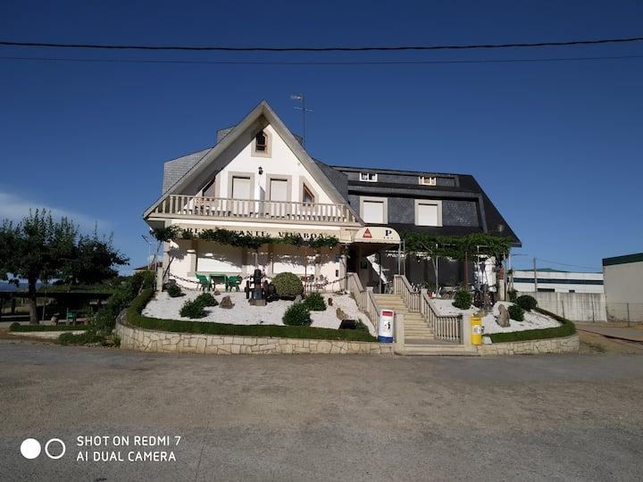Pensión - Restaurante Vilaboa - Habitación 2 camas