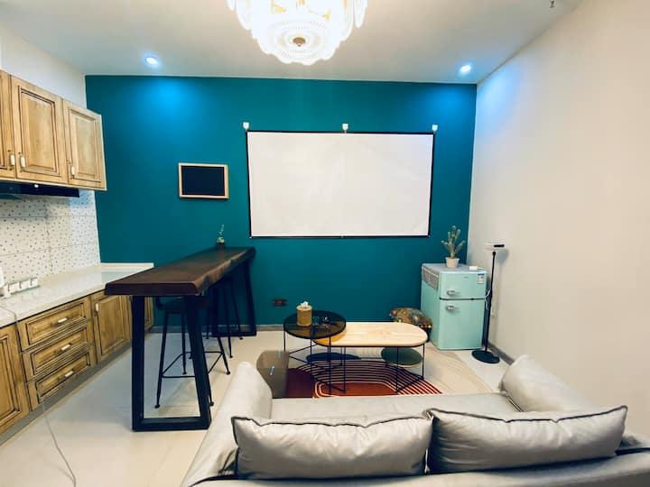 【阿薇之家】美式简约两室一厅摩尔SOHO公寓