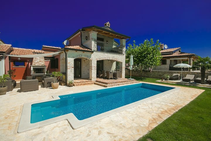 Villa Callas with special features for music fans
