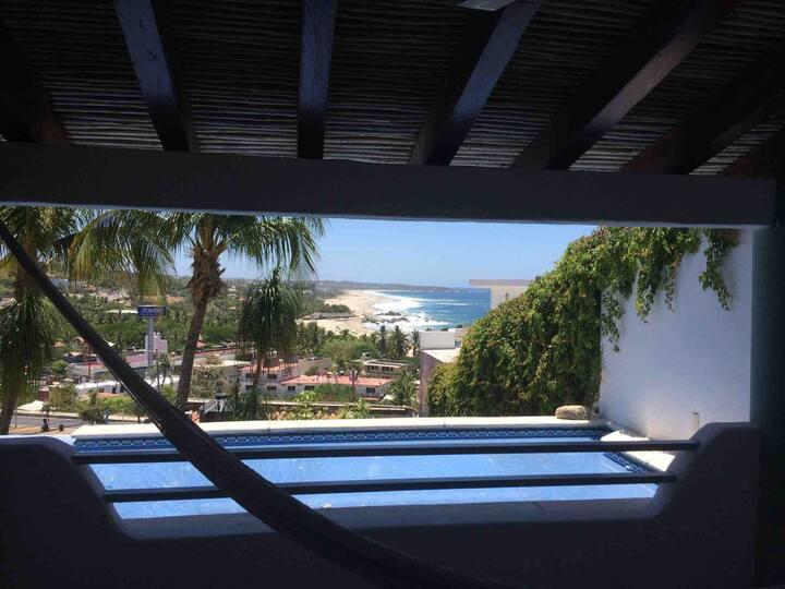 Esmeralda 06 (2/4pers) Zicatela View. Jacuzzi