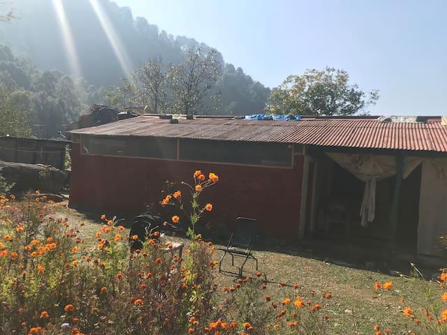 Quaint Mud house- River side