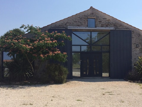 Renovated barn for 8 people 4 rooms + SPA