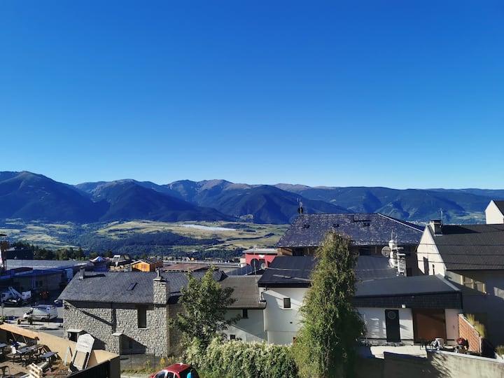 Emplacement exceptionnel et vue sur les montagnes