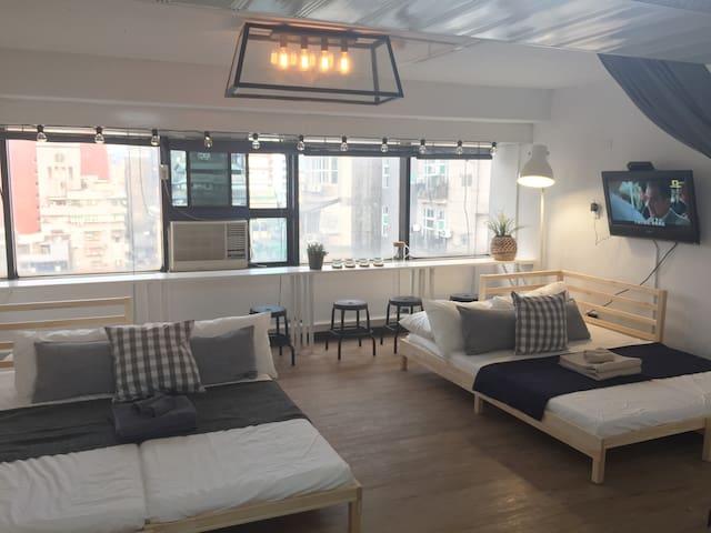 Creative Home for 1-6 guests - Ximen MRT 5min walk
