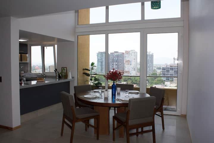 Penthouse in Chapultepec area