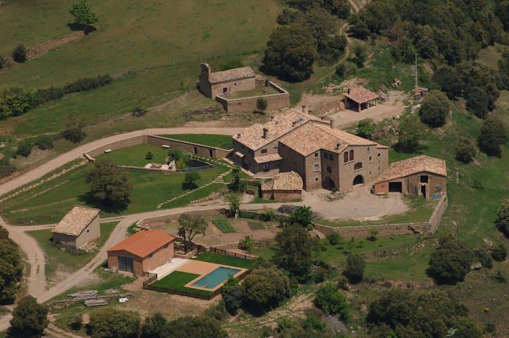 Casa rural en plena naturaleza. Magníficas vistas - Lladurs