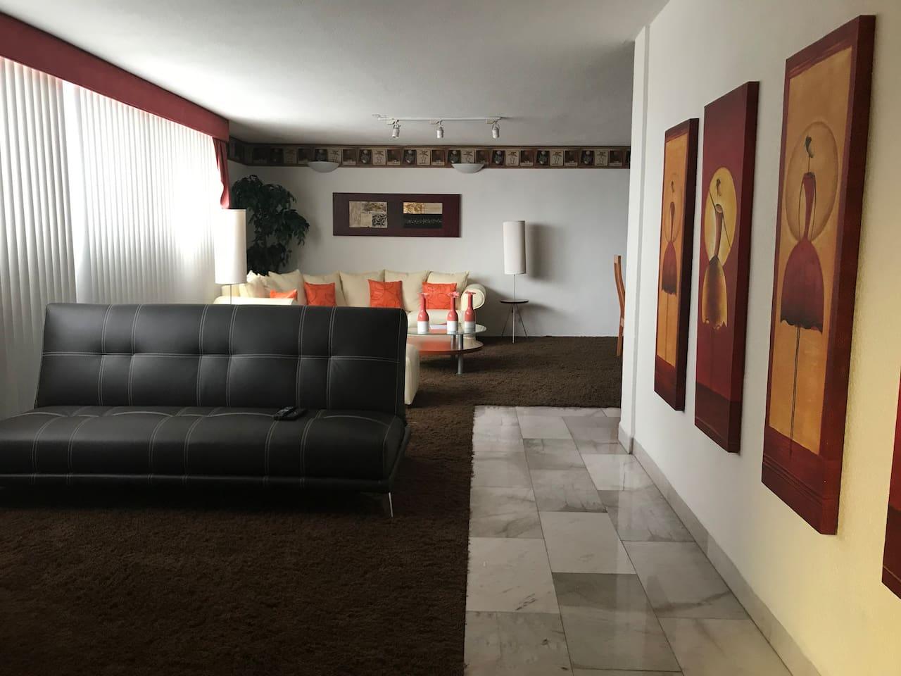 Departamento espectacular con decoración minimalista