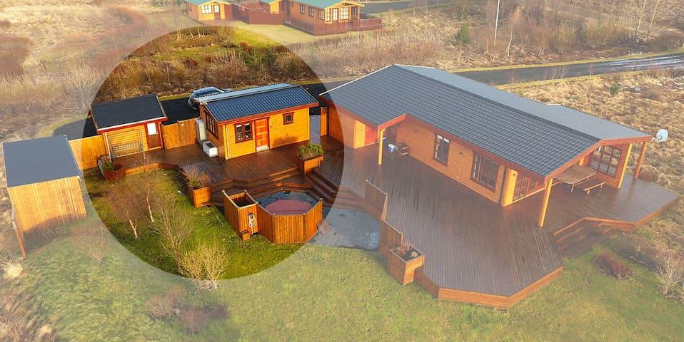 Summer house/Guesthouse - Flúðir - Pension