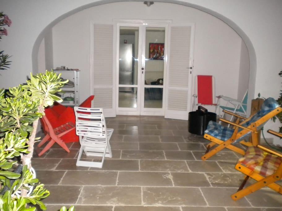 patio entrata principale