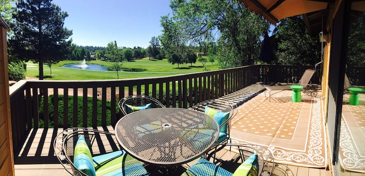 Golf Course views, Air Conditioning!