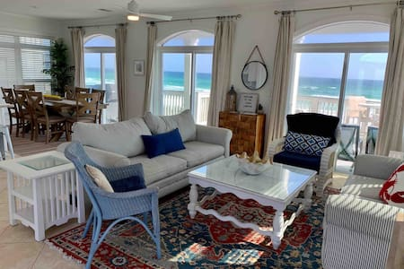 Lucky Lobster Beach House.  Oceanfront paradise