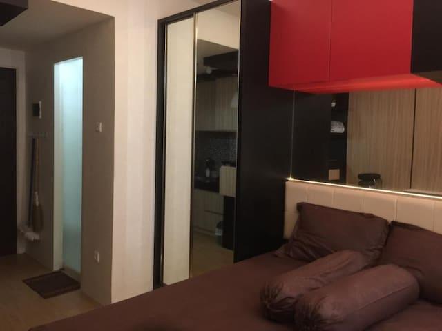 apartemen tipe studio pool view lantai 3
