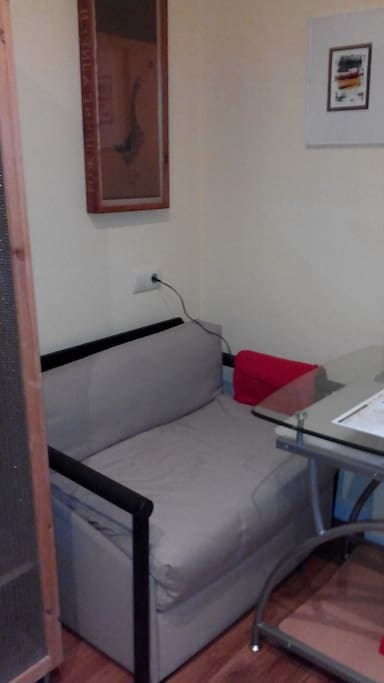 Single Bedroom, extra sofa bed (with charges)