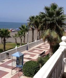 Luxury beach front Apartment Max 5 people inc kids - El Morche - Leilighet
