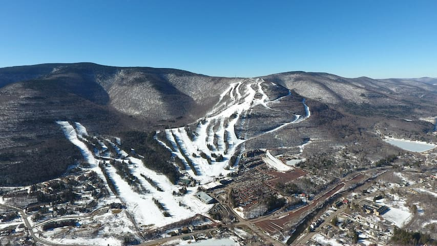 Hunter Mountain Aerial View