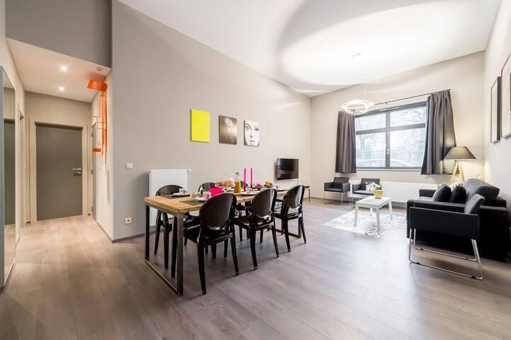 Smartflats Schuman 101 - 2 Bed - EU Quarter - Bruxelles - Apartment