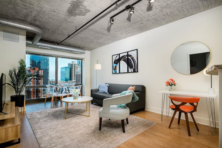 1BD/1BA Luxury Apartment in Chicago South Loop