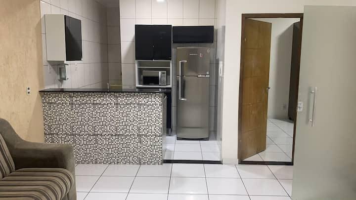 Alugo apartamento mobiliado seguro e confortável