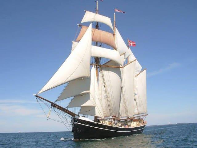 FOLKEMØDET 2016 - Køjeplads ombord på FOLKESKIBET - Allinge - Barco
