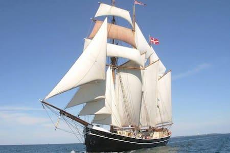 FOLKEMØDET 2016 - Køjeplads ombord på FOLKESKIBET - Allinge - 船