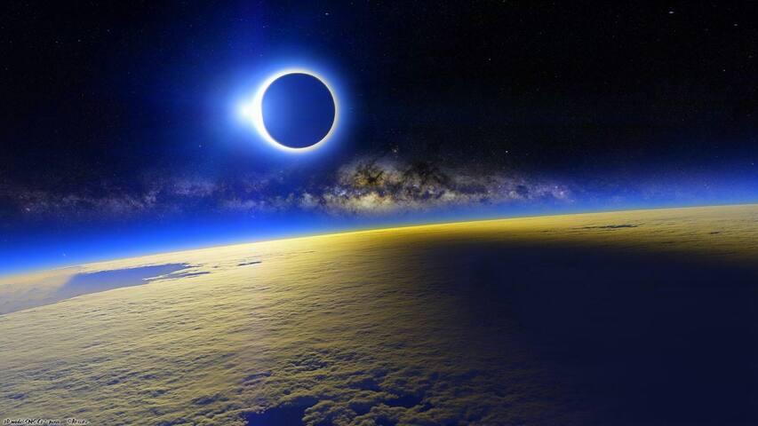 RV Camper & Space Rental 4 Solar Eclipse Horses OK